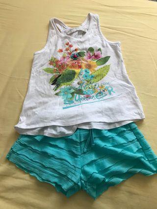 Conjunto camiseta y pantalon (mayoral)