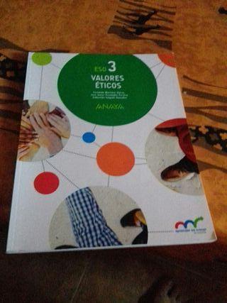 libro valores eticos 3 eso clara campo amor