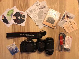 Cámara Canon 500D Reflex Profesional