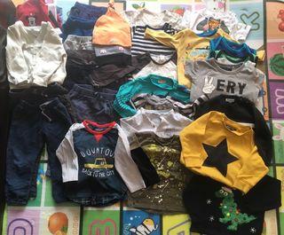 Lote ropa niño 12 meses 81 cm