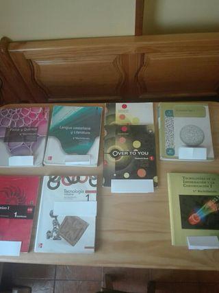 Libros 1 bachiller