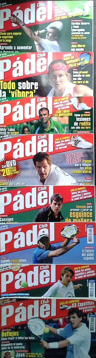 Revistas 1 al 10 de Padel Club