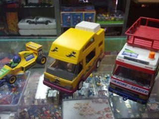 Formula 1 autocaravana furgoneta playmobil de segunda mano for Autocaravana playmobil