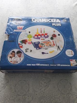 Juego Quimicefa Plus