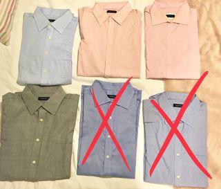 Lote de 8 camisas XXL Cortefiel, PDH...