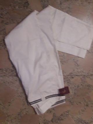 pantalon blanco Ganso mujer talla 44