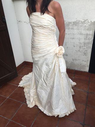 vestido de novia de segunda mano en vitoria-gasteiz en wallapop
