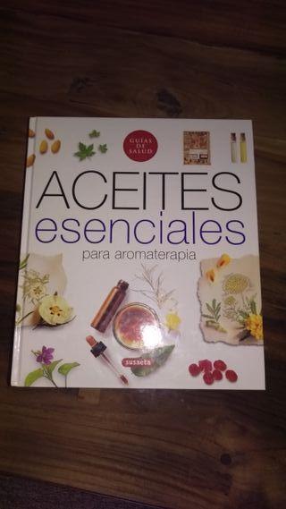 Libro aceites esenciales para aromaterapia