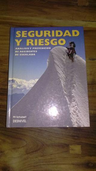 """Libro """"Seguridad y riesgo"""" montaña y escalada"""