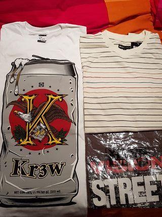 Camiseta Skate kr3w Matix Vision