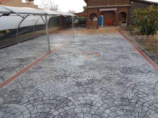 Hormigon Impreso Pavimento