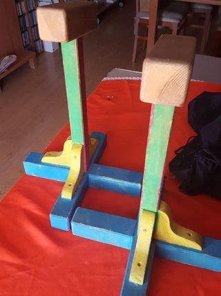 apoyos de gimnasia acrobatica