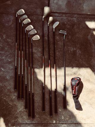 Juego de palos de golf Top flite