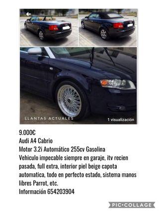 Audi A4 3.2i 255cv Cabrio