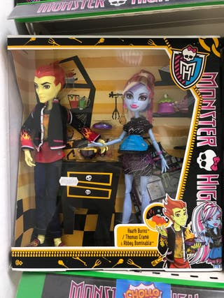 Monster high pareja