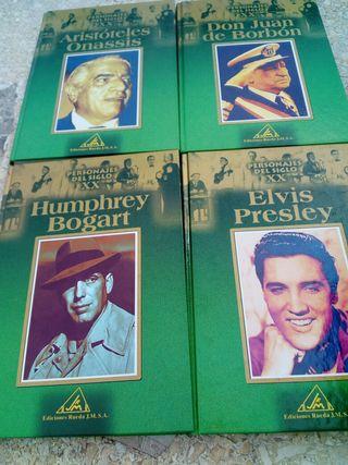 14 libros de biografías de personajes del siglo xx