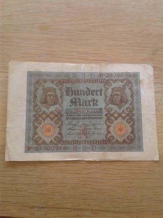 billete Alemania año 1920