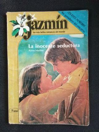 Libro romantico de jazmin
