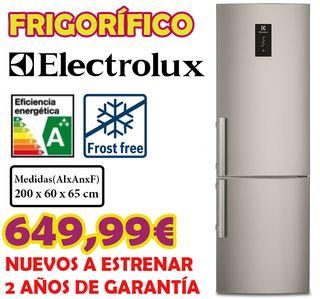 Frigorífico Electrolux Inox A+++ FrostFree 2M