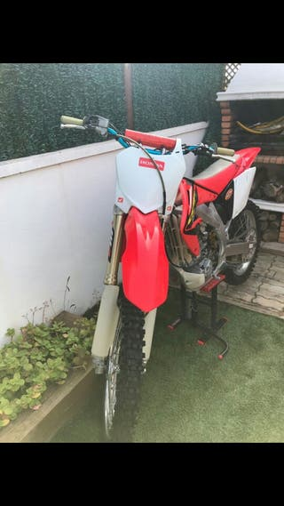 Moto de cross 450cc
