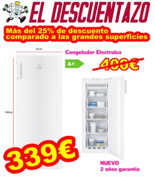 Congelador Vertical Electrolux