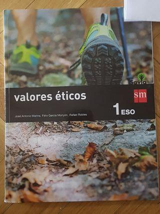 Valores éticos 1 ESO ,Edt SM