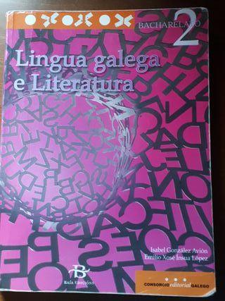Libro Lingua galega e literatura segundo de bach