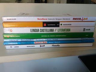 libros de texto 1 de bachiller