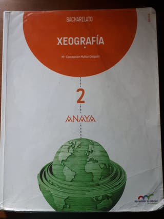 Libro xeografía segundo de bachiller