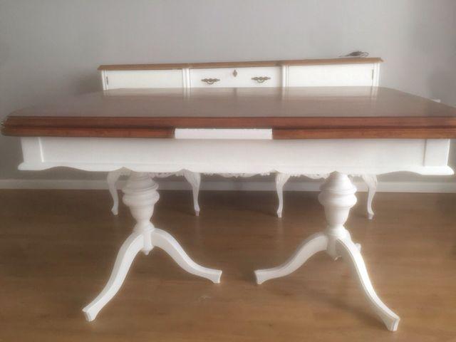 Mesa de comedor restaurada de segunda mano por 120 € en Xeraco en ...