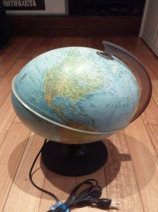 Bola del mundo en euskera