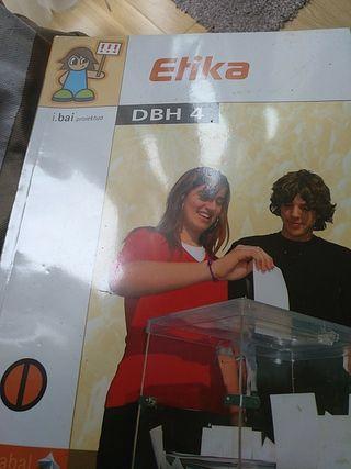 libro de Etika de 4º DBH