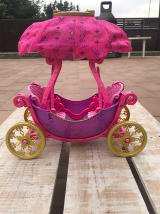 Barbie carroza globo