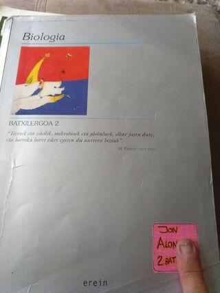 Libros biologia en euskera