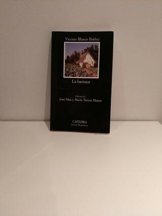 Libro La barraca de Vicente Blasco Ibañez