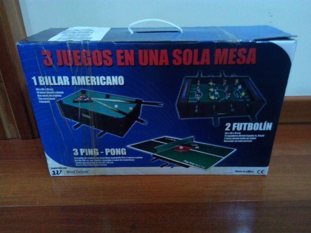 3 Juegos En Una Sola Mesa De Segunda Mano Por 20 En Burgos En