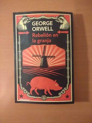 Libro. Rebelión en la granja. George Orwell
