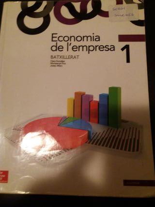 libro 1 bachillerato economia