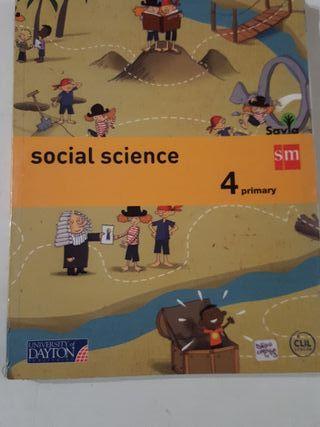 Social Sciencie. 4°E.P. Libro de texto.