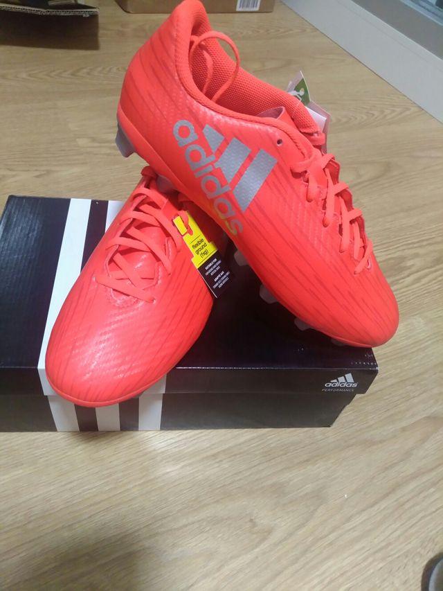 boutique de salida tienda verse bien zapatos venta Botas de fútbol Adidas talla 43 1/3 Nuevas de segunda mano ...
