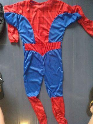 disfraz spiderman talla 11-14 años