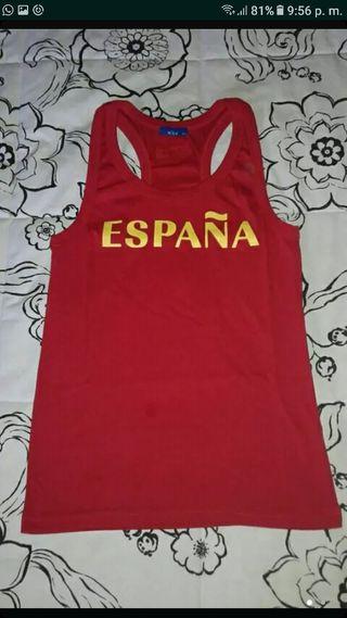 Camiseta España.