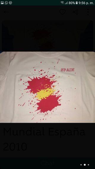 Camiseta España. talla S.