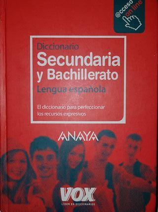 Diccionario Secundaria y Bachillerato (Español)