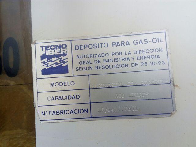 depósito gasoil homologado 500