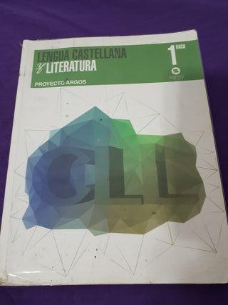 libro lengua castelllana i literatura 1 bach