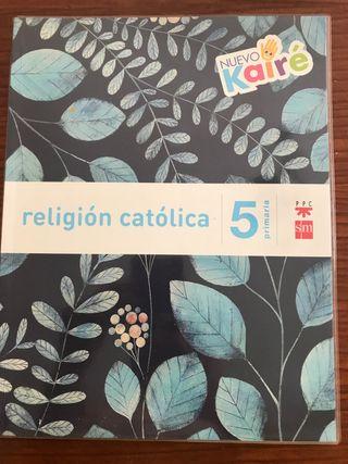 Libros Textos Religión Quinto Primaria