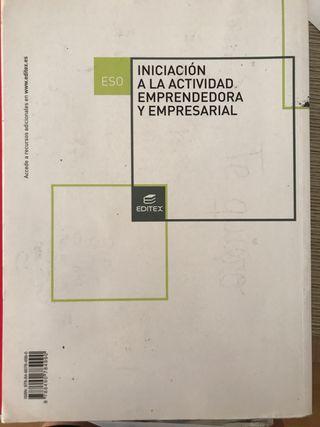 Libro empresariales 3 eso