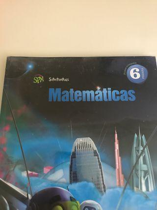Libro texto Matematicas 6