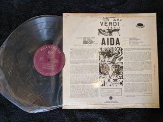 """Disco de vinilo """"Verdi Aida"""""""